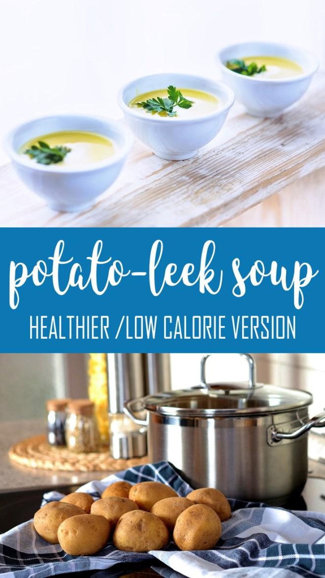 healthier potato leek soup slimming world recipes
