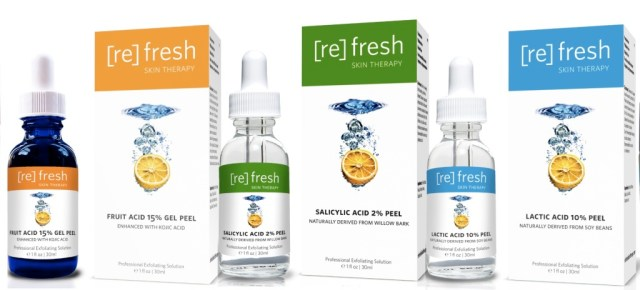 refresh skin peel