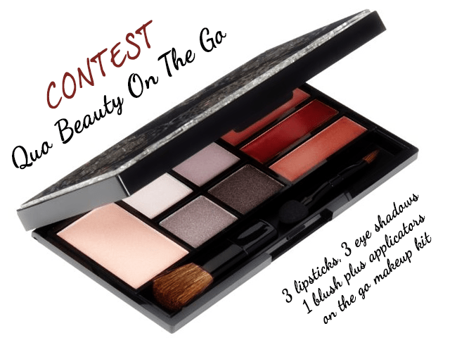 Quo On The Go Makeup Palette Contest Tea & Nail Polish