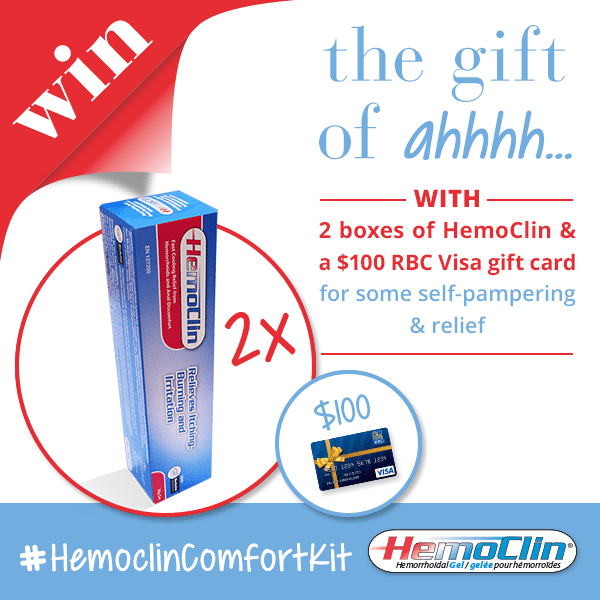 The Gift of #ahhh with the #HemoclinComfortKit Giveaway