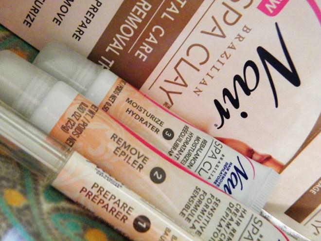 Nair Brazilian Spa Clay Facial Hair Removal Trio Review
