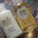 Moringa Products From The Body Shop (Tea & Nail Polish)