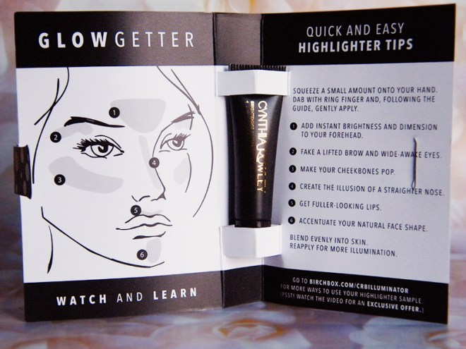 Cynthia Rowley GlowGetter: Birchbox June 2015 Say Yes Unboxing