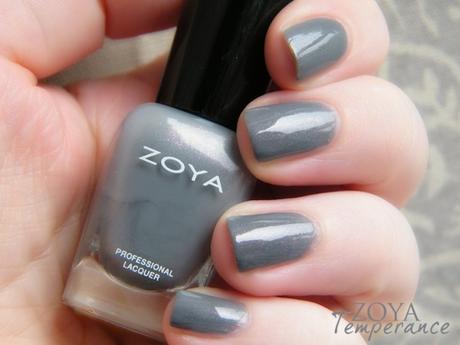 Zoya Mystery Mini Set Temperance Swatches