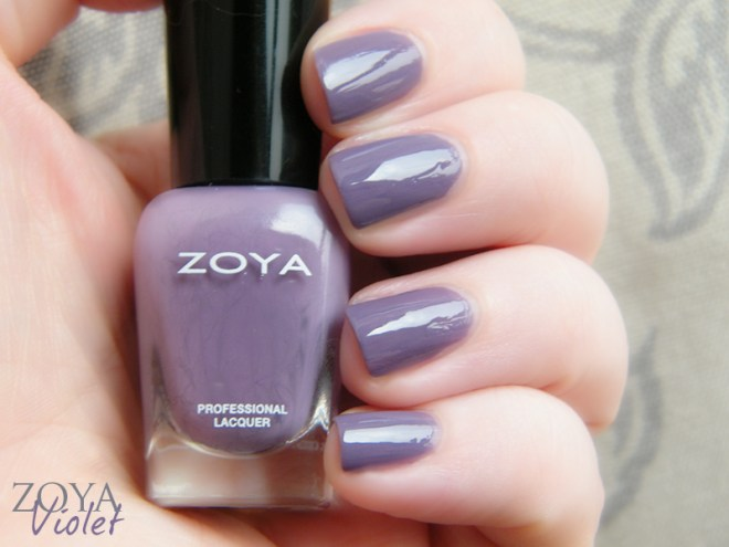 Zoya Mystery Mini Set Violet Swatches