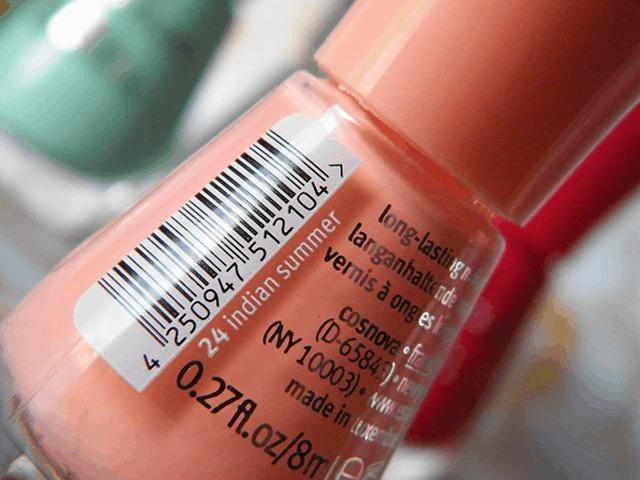 Essence The Gel Canada 24 Indian Summer
