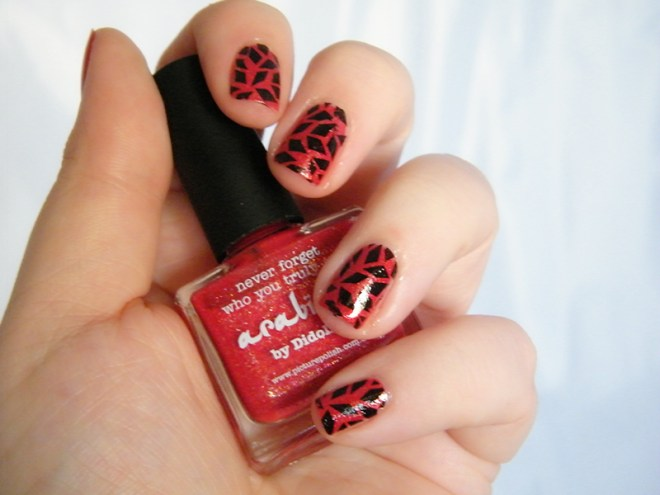 Abstract Geo Nails CBBOctNails