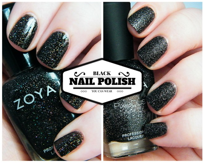 Black Nail Polish You Can Wear #CBBOctNails