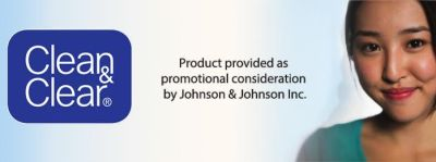 Clean & Clear Johnson & Johnson Disclaimer
