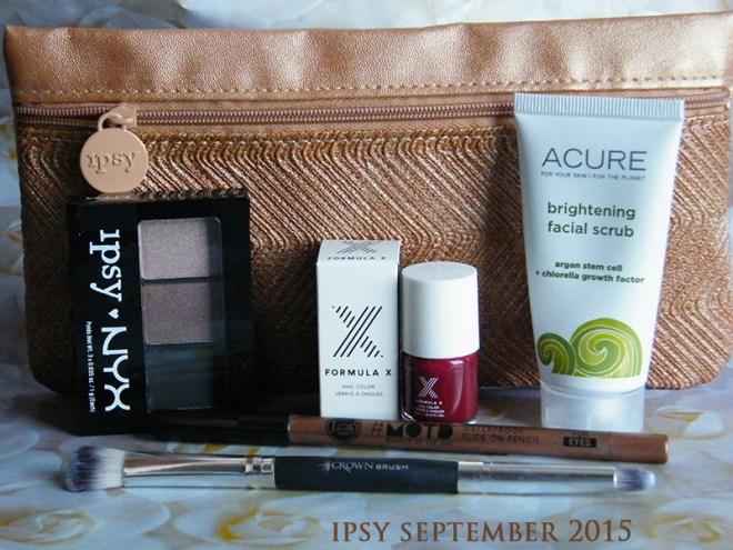 Ipsy September 2015 Unboxing