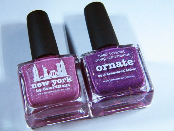 picture polish new york vs ornate bottle pics npc