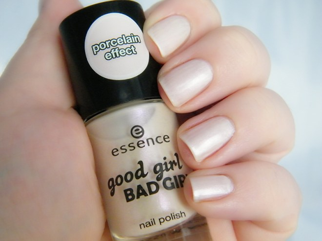 Essence Who Am I Porcelain Effect Swatch Essence Good Girl Bad Girl  Collection