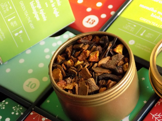 DavidsTea 24 days of tea advent calendar day 12 the spice is right tea