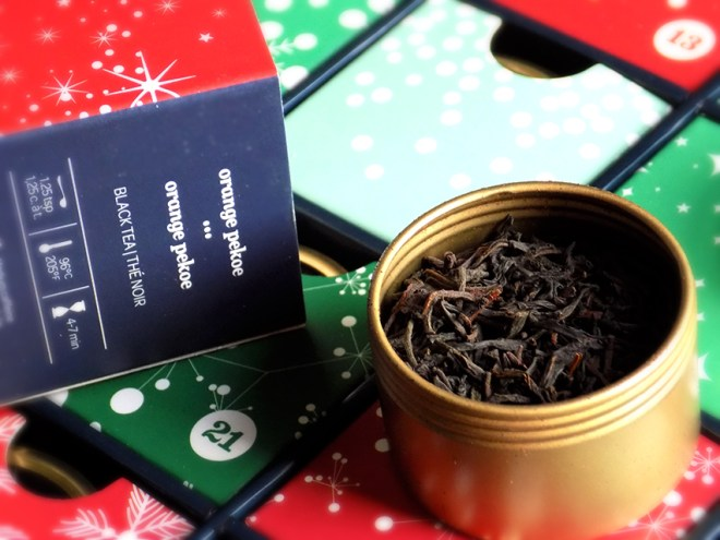 DavidsTea Advent Calendar Day 3 Orange Pekoe