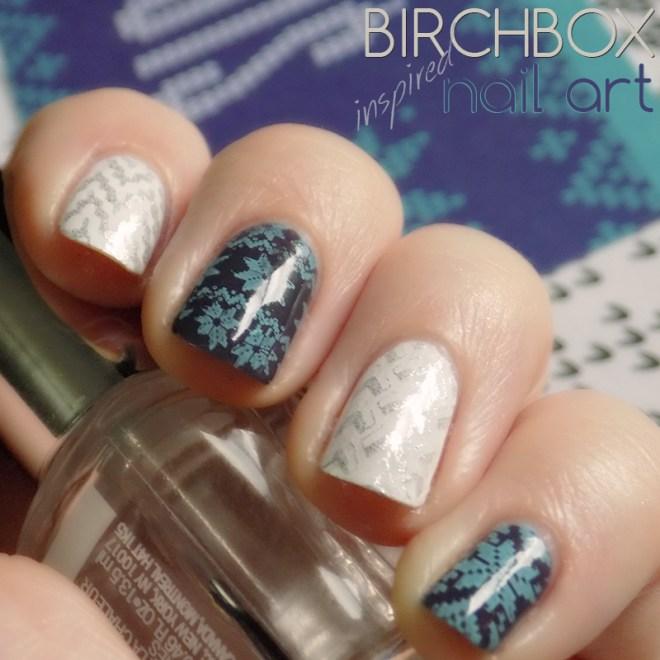 December Birchbox Inspired Nail Art