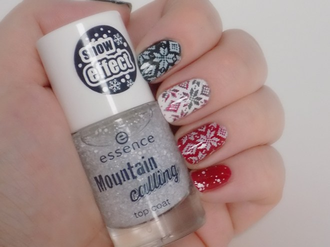 Essence Mountain Calling Nail Art