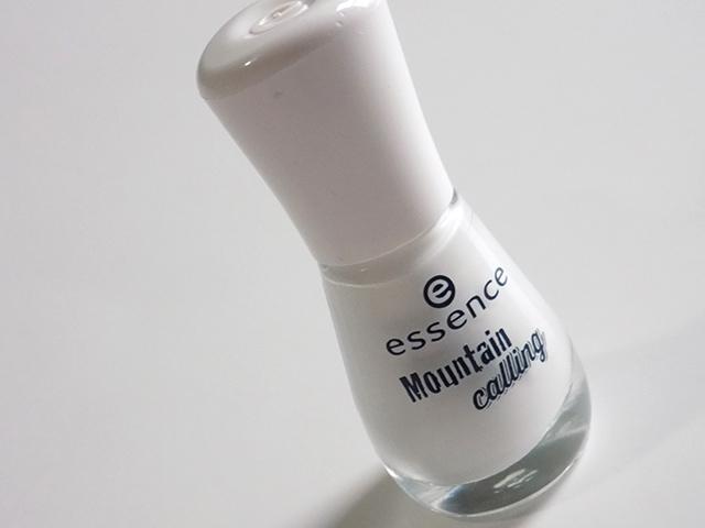 Essence Snow Alert White Polish - Mountain Calling Nail Polish
