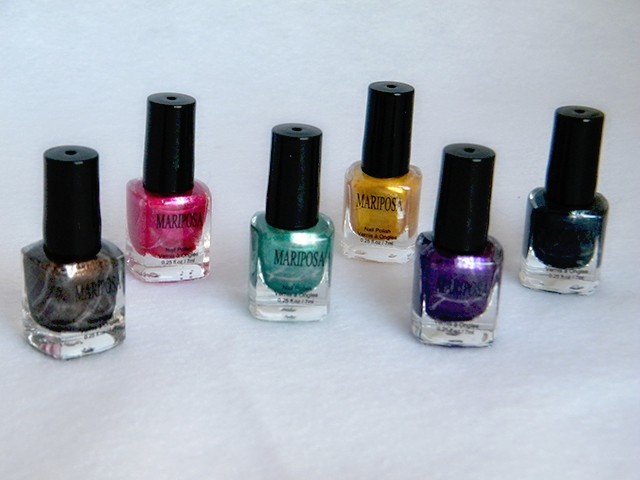 Mariposa Nail Polish Foils Dollarama Polishes