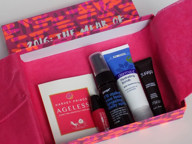 Birchbox January 2016 All Products