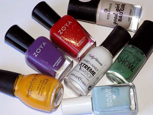 Bring Back The Bees Polishes Used