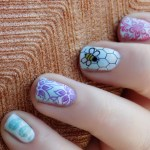 Cheerios Bee Nail Art - Bring Back The Bees Buzz