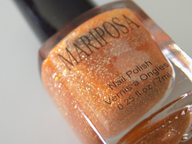 Mariposa Glitter Pixie Dust Orange Bottle Pic