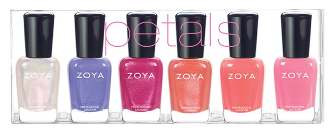 Zoya Petals Collection Bottles