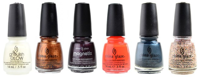 China Glaze Alphabetical GL