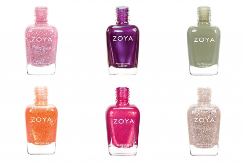 Zoya Nail Polishes starting with letters G-L