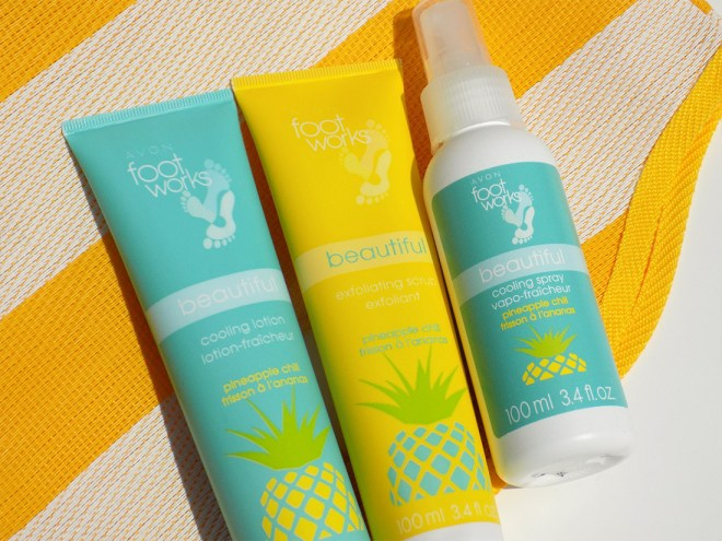 Foot Works Pineapple Chill Trio