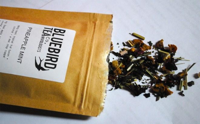 Bluebird Tea Haul Guest Post by That Flour Child - Pineapple Mint