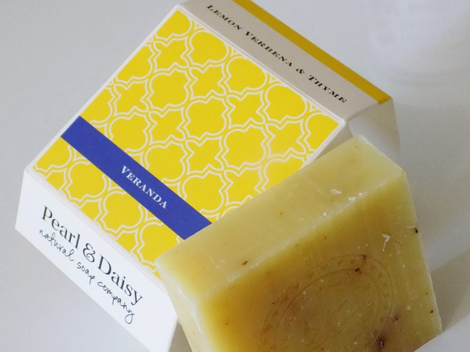 Pearl and Daisy Verdana Soap