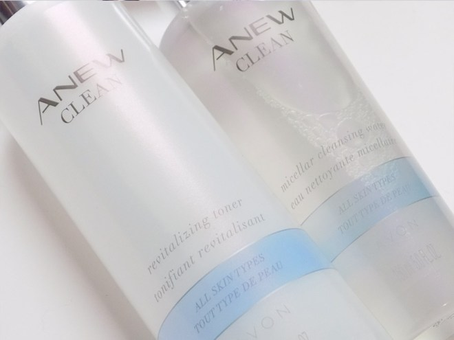 Avon Anew Clean Toner and Micellar Water