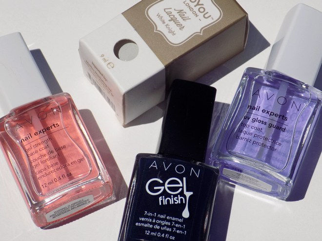 Avon Gel Finish Inked Up Nail Polish Nailart Supplies