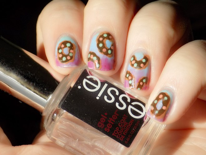 Donut Day Jun 3 Nail Art