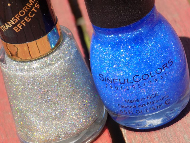 Revlon Holographic Pearls and Sinful Colors Hottie Bottles