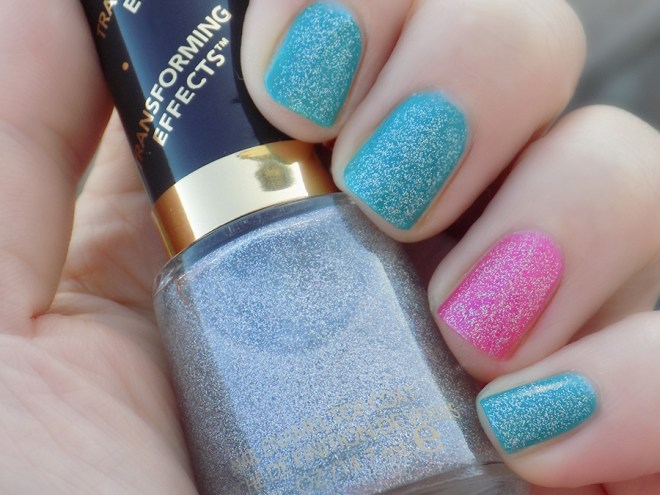 Revlon Holographic Pearls over Quo Ampd Shade