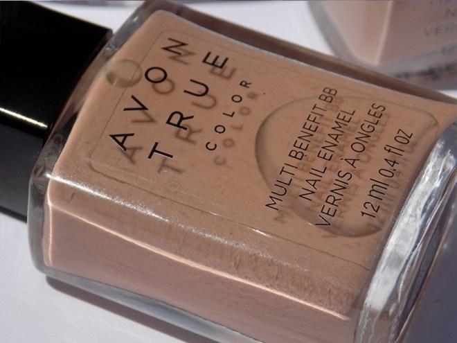 Avon True Color BB Nail Enamel Restoring Beige Bottle