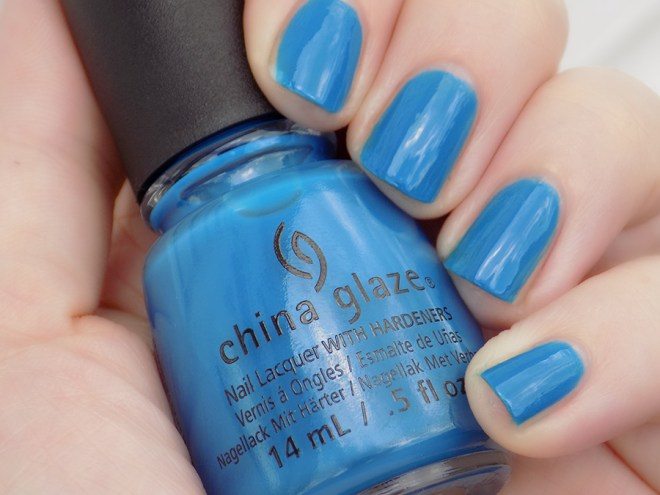 China Glaze License & Registration Pls Nail Polish Swatch