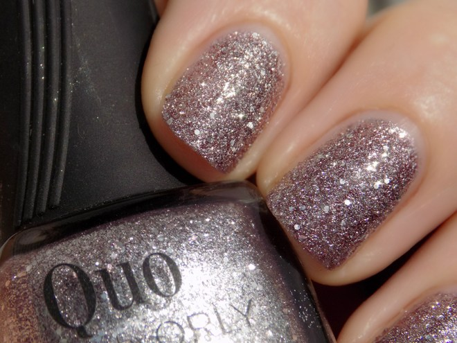 Quo by Orly Mega Plum Nail Polish Swatch Macro