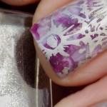 Purple Smoosh Mani with Avon Purplicious, Lavender Sky & Sterling