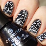 Back to School Essence Stamped Nailart Sunlight