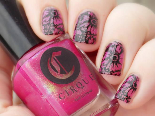 Cirque Dear Dahlia Swatch Stamped