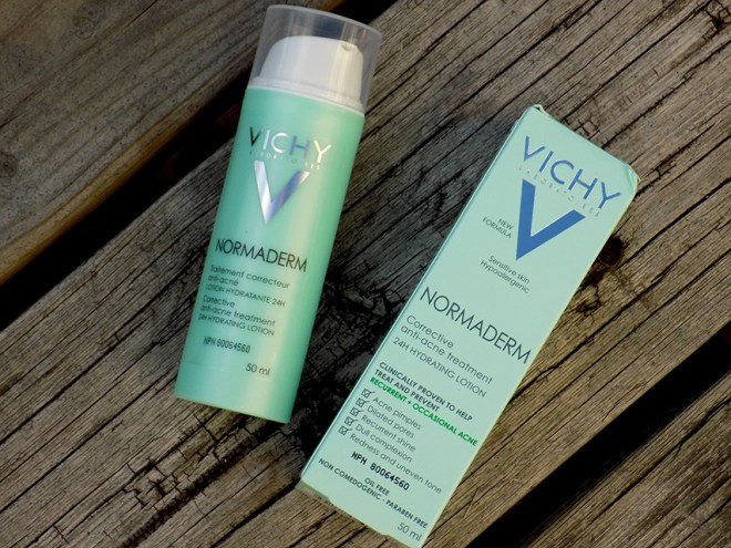 Vichy Normaderm Anti Acne Treatment - 24hour Hydrating Lotion Review