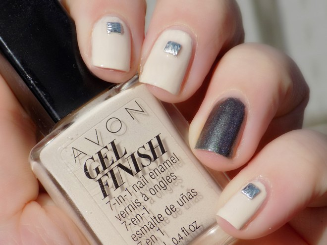 Avon Barely There Sterling Nailart