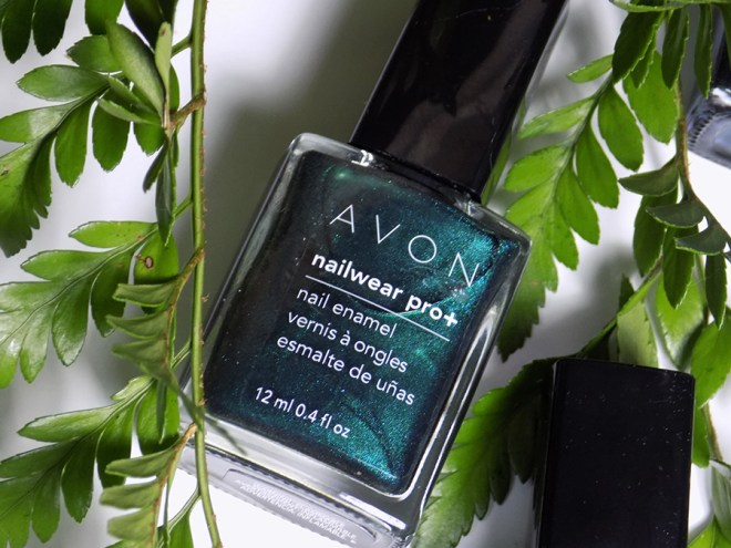 Avon Fall Trends - Nailwear Pro Noir Emerald Nail Polish - Green Nail Polishes