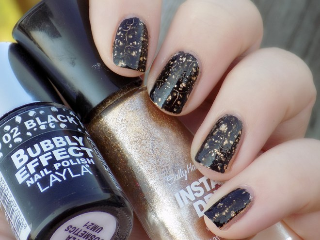 Metallic Nails - 31SC2016 - SH Go For Gold - Layla Black Forest Bubbly - Swatch