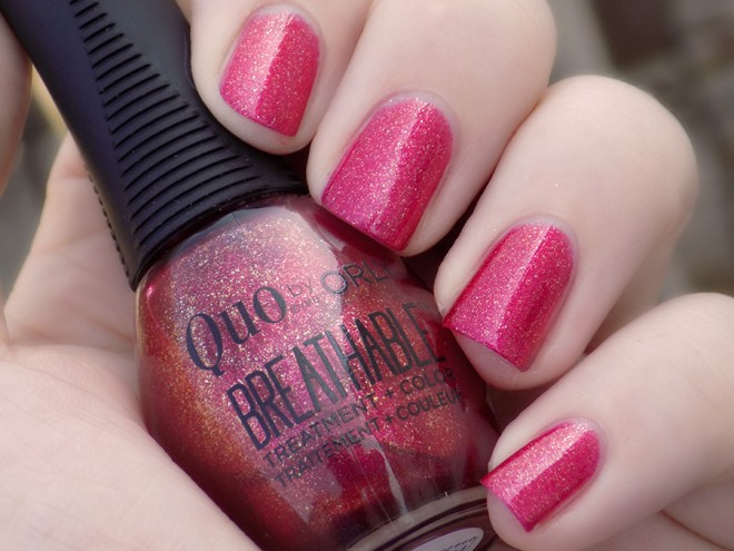 Quo by Orly Breathable Stronger Than Ever Swatch Shade
