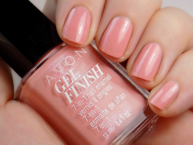 Avon Gel Finish Dazzle Pink Swatch - For Breast Cancer Research