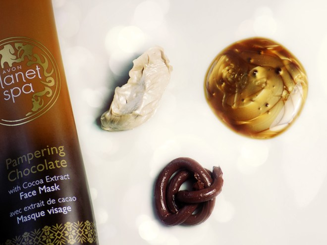 Avon Planet Spa Pampering Chocolate Mask, Body Wash and Body Whip Review